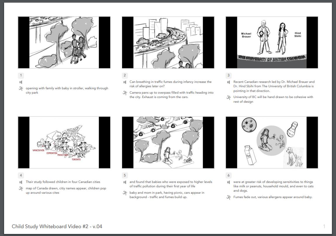 Allergen Storyboard
